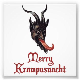 Fröhliches Krampusnacht Foto