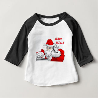 Fröhliches Mixmas Baby T-shirt
