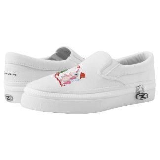 Fröhliches Unicmas (frohe Weihnachten über Slip-On Sneaker