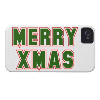 Fröhliches Weihnachten (2) iPhone 4 Case-Mate Hülle