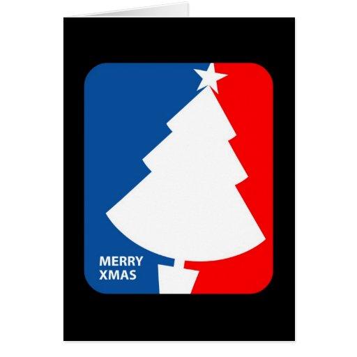 Fröhliches Weihnachten Grußkarte