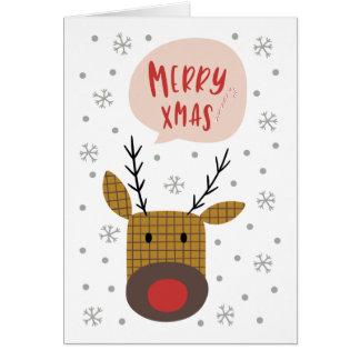 Fröhliches Weihnachten Karte