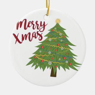 Fröhliches Weihnachten Keramik Ornament