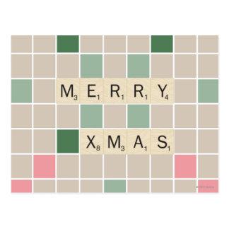Fröhliches Weihnachten Postkarte