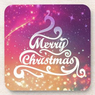 Fröhliches Weihnachten Untersetzer