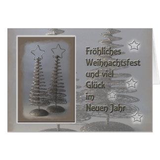 Fröhliches Weihnachtsfest............... Grußkarte