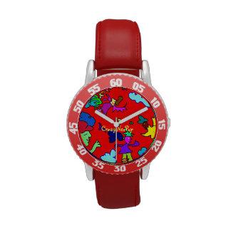 Fröhlichkeit - Kinderuhr für Mädchen Uhren