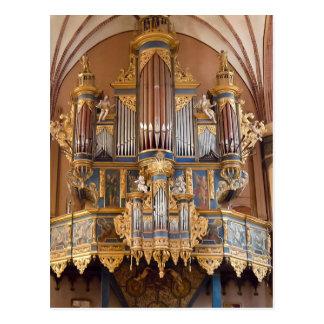 Frombork Kathedralen-Organpostkarte Postkarte