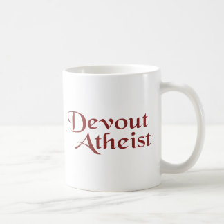 Frommer Atheist Kaffeehaferl