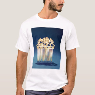 Front eines Scythian Kammes T-Shirt