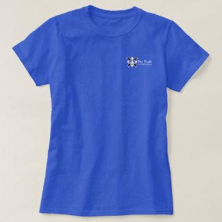 Fronten-u. Rückseiten-Dunkelheits-T-Stück das B&W T-Shirt