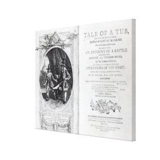 Frontispiz und Titlepage zu 'einer Geschichte von  Galerie Faltleinwand