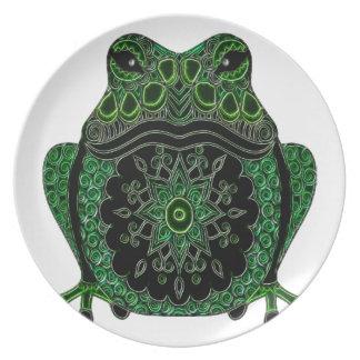 Frosch 1 melaminteller