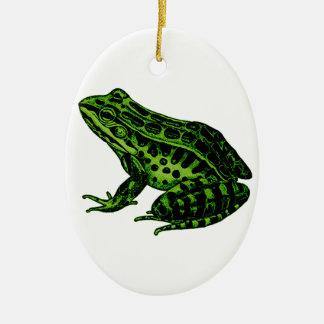 Frosch 2 keramik ornament