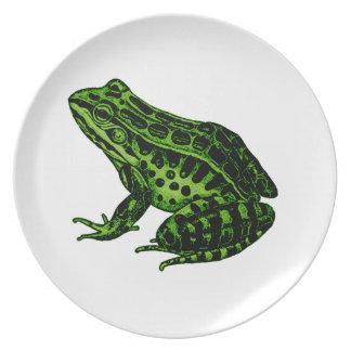 Frosch 2 melaminteller