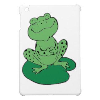 Frosch auf Lilypad iPad Mini Hülle