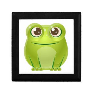 Frosch-Baby-Tier in der Girly süßen Art Erinnerungskiste