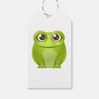 Frosch-Baby-Tier in der Girly süßen Art Geschenkanhänger