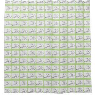 Frosch-Duschvorhang Duschvorhang