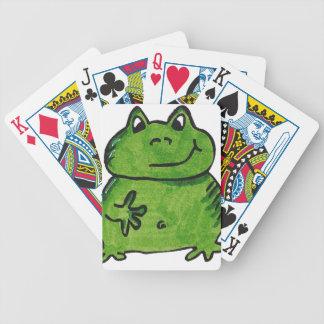 Frosch Frog Bicycle Spielkarten
