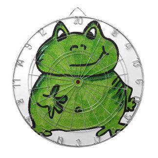 Frosch Frog Dartscheibe