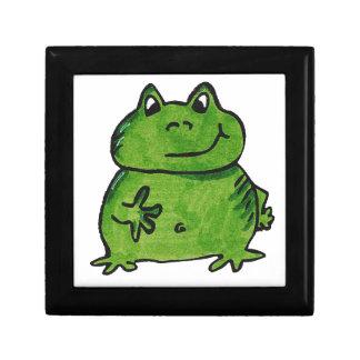 Frosch Frog Erinnerungskiste