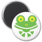 Frosch - frog runder magnet 5,7 cm