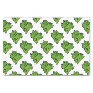 Frosch Frog Seidenpapier
