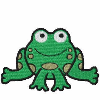 Frosch gesticktes Shirt