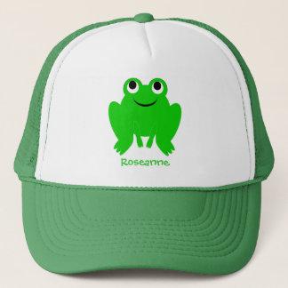 Frosch-Hut addieren gerade Namen Truckerkappe