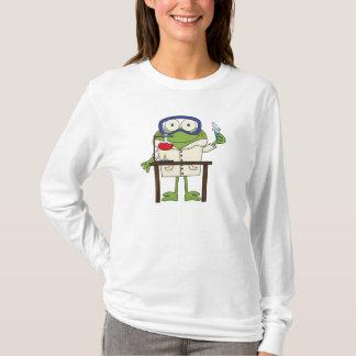 Frosch im Wissenschafts-Labrador T-Shirt
