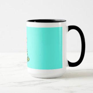 Frosch in der Hut-Tasse Tasse