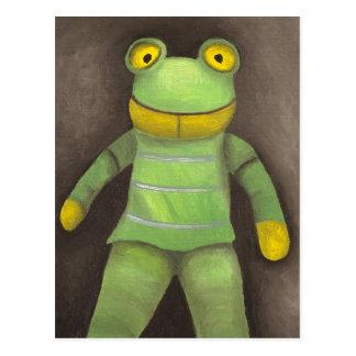 Frosch-Junge Postkarte