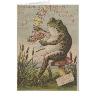 Frosch Karte