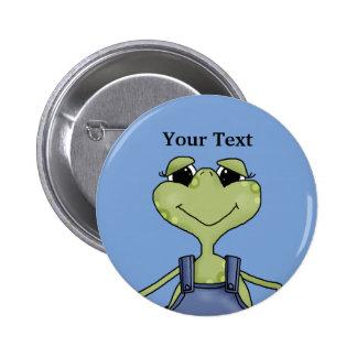 Frosch- Knopf Button