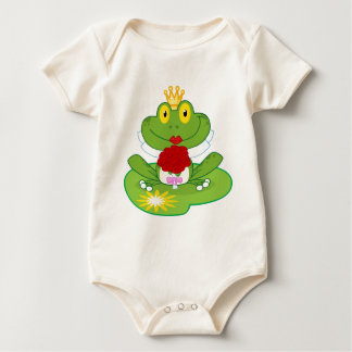 Frosch-Königin Baby Strampler