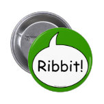 Frosch-Kostüm-Knopf Buttons