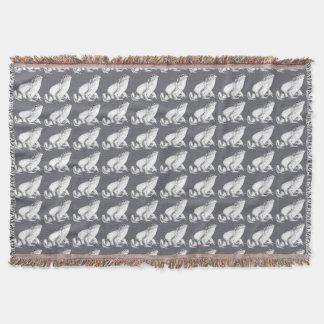 Frosch-Kunst-Decken-Stier-Frosch-Kunst-Wurfs-Decke Decke