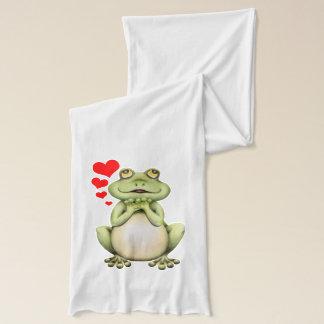 Frosch-Liebe-Zeichnen Schal