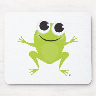 Frosch-Mausunterlage Mousepads