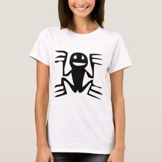 Frosch, mexikanische Hieroglyphe (Maya) T-Shirt