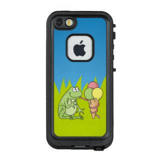 Frosch mit Eiscreme LifeProof FRÄ' iPhone SE/5/5s Hülle