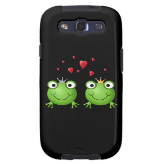 Frosch-Paare MIT Herzen Samsung Galaxy S3 Schutzhülle