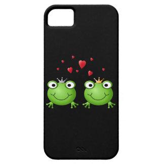 Frosch-Paare mit Herzen Etui Fürs iPhone 5