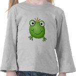 Frosch-Prinz. Glücklicher Frosch Hemd