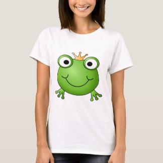 Frosch-Prinz. Glücklicher Frosch T-Shirt