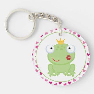 Frosch-Prinz Keychain Schlüsselanhänger