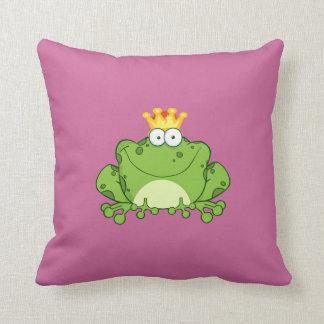 Frosch-Prinz Kissen