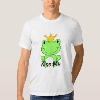 Frosch-Prinz - küssen Sie mich T-Stück Tshirt