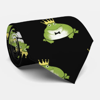 Frosch-Prinz Pattern Individuelle Krawatten